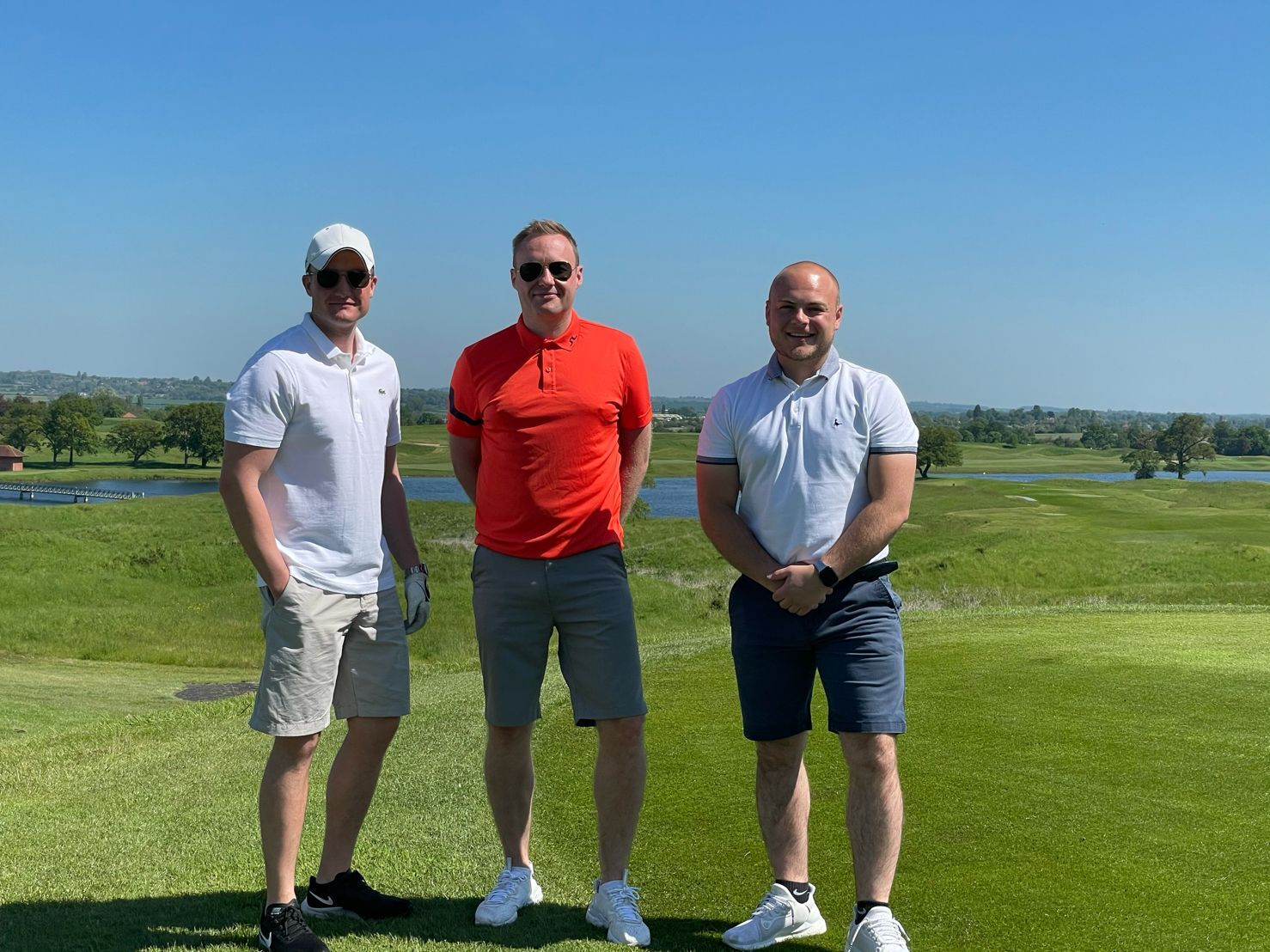 Carlton Forest team at annual golf day